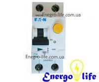 Дифференциальный автомат EATON PFL6-20/1N/С/003 защищает проводку от коротких замыканий, перегрузок, от утечек и поражения током (арт.286468)