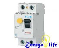 Устройство защитного отключения EATON PF6-25/2/003 защищает проводку от коротких замыканий, перегрузок, от утечек и поражения током (арт.286492)