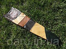 Чехол для шампуров №1 на 650 мм, КОЖА, прочный и надежный