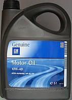 Полусинтетическое моторное масло Gm 10w-40 5л