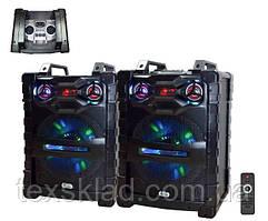 Комплект потужної акустики UF-1531-DT 400W (USB/Bluetooth)