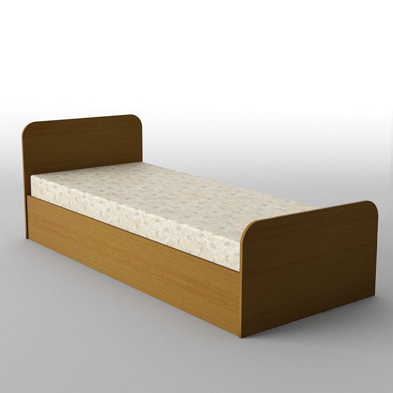 Ліжко односпальні в спальню/дитячу КР-110 Тіса меблі