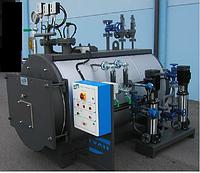 Газовый паровой котел Ivar BHP 5000 кг пара в час ( давление до 11,8 бар )
