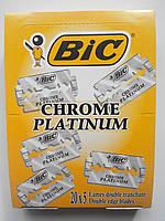 Лезвия Bic Chrome platinum 100 шт