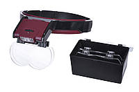 Лупа бинокулярная Magnifier 81001-B 6x
