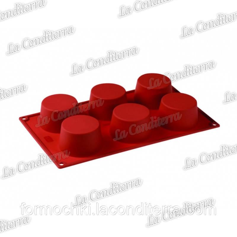 Силиконовая форма для выпечки Pavoni FR065 Cupcake