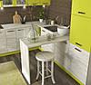 "Кухня Шарлотта комплект 2 метра лайм, ф-ка ""Сокме"", фото 3"