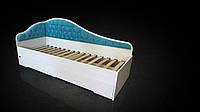 Кровать с мягкой спинкой Л-8 (800х2000)