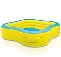 Надувной детский бассейн Intex 229х229x56 см