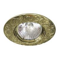 Светильник точечный Feron DL 2005 MR16 античное золото(бронза)