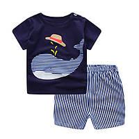 Детская футболка и шорты для мальчика.