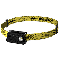 Фонарь налобный Nitecore NU20 (Сree XP-G2 S3, 360 люмен, 6 режимов, USB), черный, фото 1