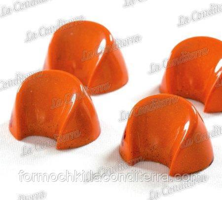 Полікарбонатна форма для шоколадних цукерок PAVONI PC40