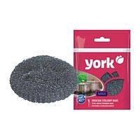 Мочалка стальная для посуды макси York