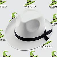 Шляпа Мужская белая