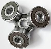 Подшипник качения шариковый радиальный однорядный с двухсторонней защитой и уплотнением из резины или пластмассы180018 (608 2RS) Подшипник (KINEX)