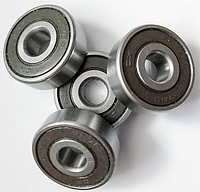 Подшипник качения шариковый радиальный однорядный с двухсторонней защитой и уплотнением из резины или пластмассы180018 (608 2RS) Подшипник (SKF)