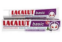 Зубная паста LACALUT basic черная смородина и имбирь 75 мл