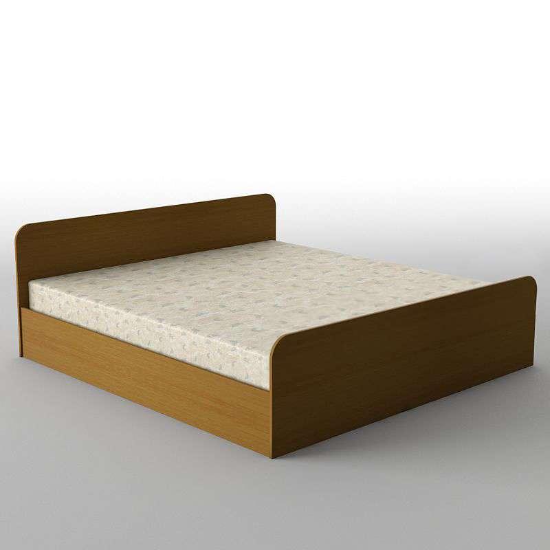 Ліжко двоспальне з ДСП/МДФ в спальню КР-111 Тіса меблі