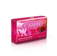 Туалетное мыло CAMAY French Romantique Утонченный аромат алых роз, 85г