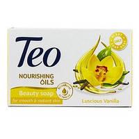 """Туалетное мыло Teo Nourishing Oils Luscious Vanilla  """"Ароматная ваниль"""" 100 г"""