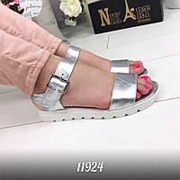 Модные женские кожаные босоножки сандали тренд 2017!