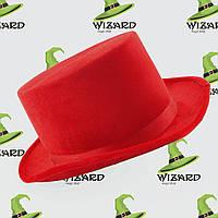 Шляпа Цилиндр велюровый