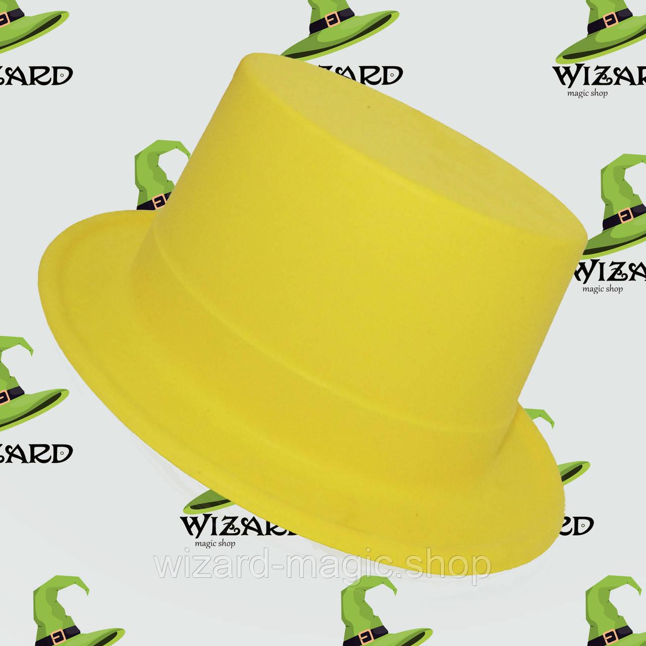 Шляпа Цилиндр с лентой Флок - Wizard Magic Shop в Харькове
