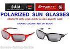 Очки DAM Effzett Polarized Glasses BLACK AND RED