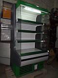 Горка холодильная Росс Модена б/у, холодильный регал Модена бу, фото 4