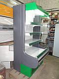 Горка холодильная Росс Модена б/у, холодильный регал Модена бу, фото 5