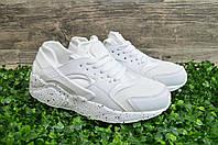 Nike Huarache белые кроссовки женские летние. Найк .