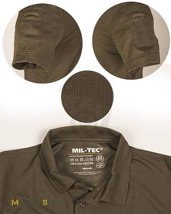 Поло тактическая Mil Tec Olive, фото 2