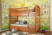 Двухъярусная деревянная кровать Смайл Arbor, фото 2