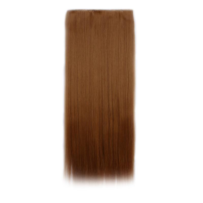 Штучні волосся на заколках. Колір #27s Натуральний рудий
