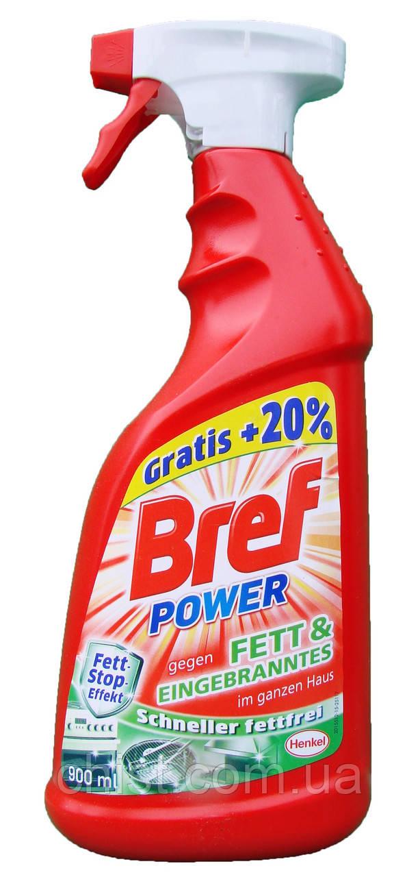 Bref Power спрей против жира и грязи по всему дому 900 мл.Германия
