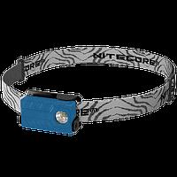 Фонарь налобный Nitecore NU20 (Сree XP-G2 S3, 360 люмен, 6 режимов, USB), синий, фото 1