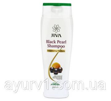 """Jiva black pearl shampoo шампунь """"Черный жемчуг"""" - помогает сохранить блеск и толщину волос / 200 мл"""