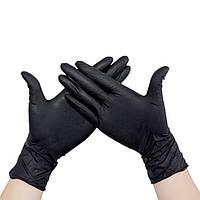 Перчатки черные нитриловые Style Black
