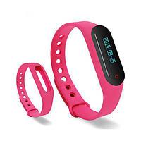 Фитнес-браслет mi band 2 розовый