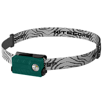 Фонарь налобный Nitecore NU20 (Сree XP-G2 S3, 360 люмен, 6 режимов, USB), зеленый, фото 1