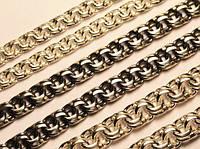 Цепь серебряная плетение Бисмарк от 6 грамм