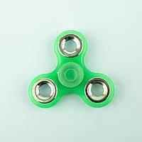 Спиннер пластиковый полупрозрачный светло-зелёный Spinner plast 068-R