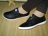 Женские кеды кроссовки Спорт. Черные на белой подошве. Мягкие, удобные.