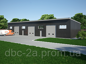 Проект гаража, проект склада