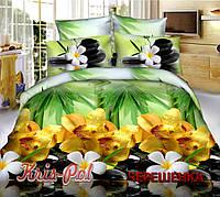 Полуторный набор постельного белья 150*220 из Полиэстера №85128 KRISPOL™