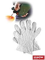 Защитные перчатки, выполненные из пленки RFOLIA T