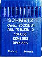 Иглы Schmetz №70 для промышленных швейных машин