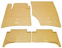 Резиновые коврики для Volkswagen Touareg I 2002-2010 (STINGRAY)