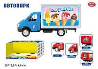 Грузовик Автопарк мороженое , фото 1